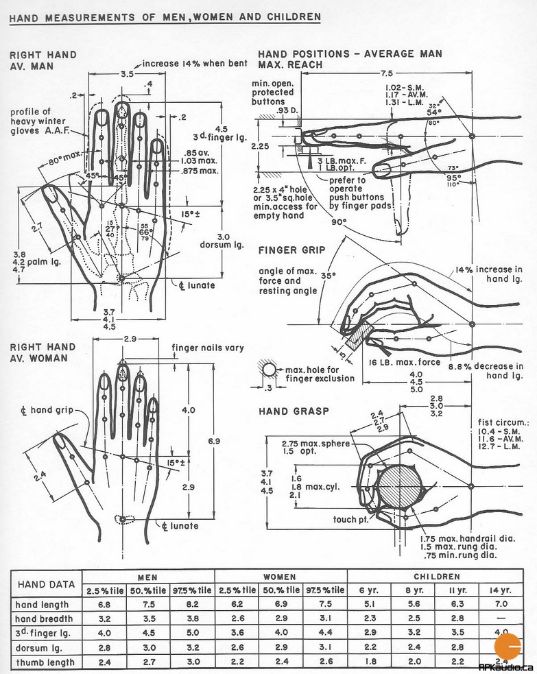 Hand Dimensions
